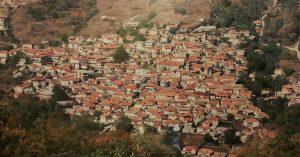 Πανοραμική λήψη του οικισμού Αγίου Δημητρίου Πιερίας